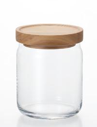 コーヒー保存に 市販 収納便利なスタック容器 超特価SALE開催 スタック ストック 石塚硝子 M M6255 アデリア