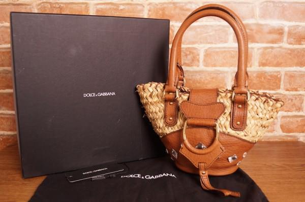 DOLCE&GABBANA Women Handbag LN.2LW STG.05P ATR.490 MATERIALE.1772 CELTIC C / CASTONI COLORE: 25CUOIO MISURA: PZ DISPOSIZIONE030164