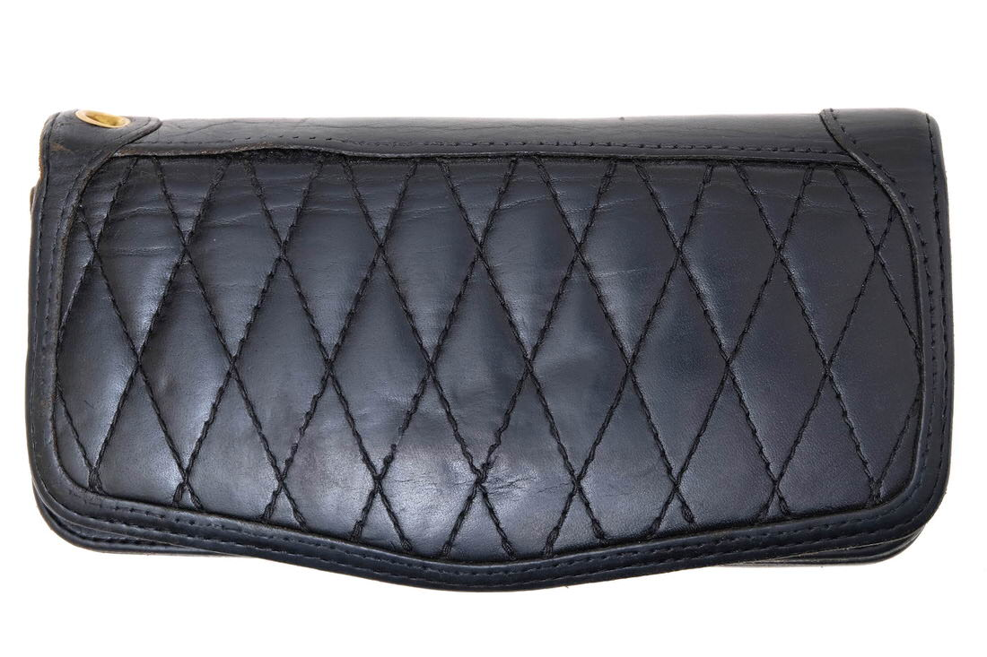 STORM BECKER 長財布 ストームベッカー ACL-001 QUILTING LEATHER WALLET Type 1 ロングウォレット【中古】