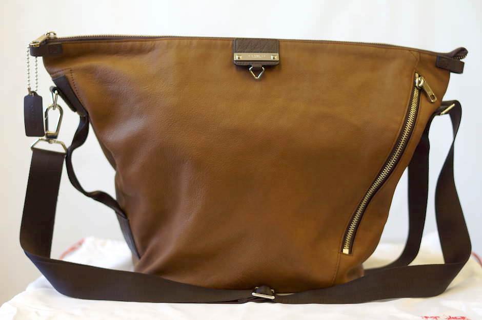 COACH Men's Shoulder bag 71163 Thompson Leather transit