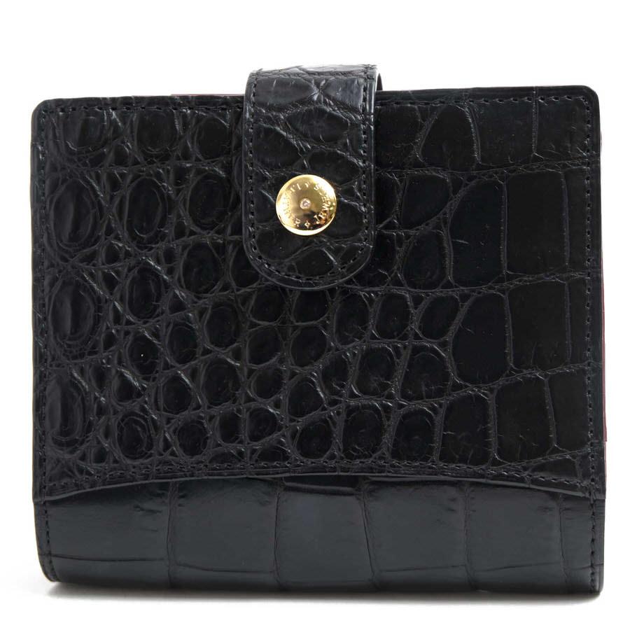 Crystal Reptiles 財布 クリスタルレプティルズ 02S63B ホック式 小銭入れあり 二つ折り 【中古】