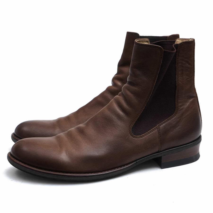 glamb サイドゴアブーツ グラム GB09WT-AC24 Lismore boots  レザーソール 【中古】