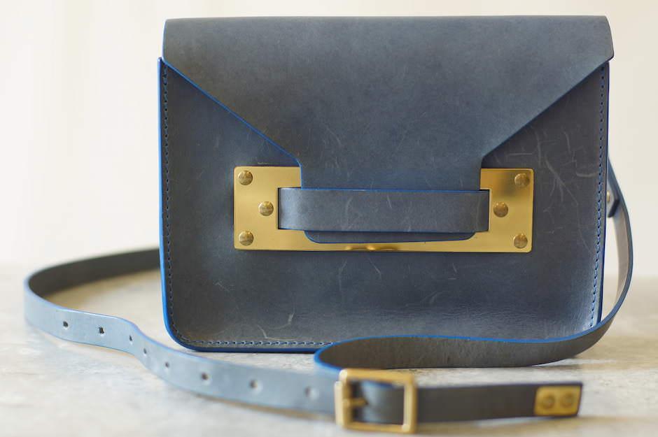 Sophie Hulme ショルダーバッグ ソフィーヒュルム エンベロープ MINI ENVELOPE BAG BG004LE【中古】