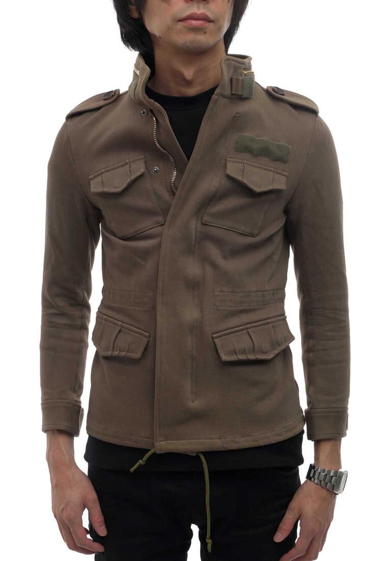 junhashimoto フィールドジャケット ジュンハシモト 16SS-1041610002-OL 16SS M65 OLIVE パワードクロス ストレッチ POWERED CLOTH M-65 ミリタリー :ブランディング