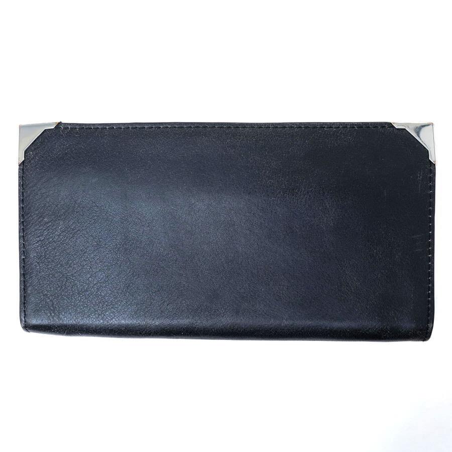 ALEXANDER WANG 長財布 アレキサンダーワン PRISMA SKELETAL LONG COMPACT IN BLACK Wallets【中古】