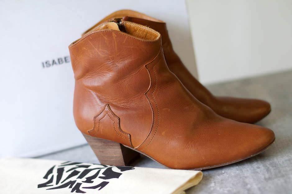ISABEL MARANT ブーツ イザベル マラン Dicker スエード アンクルブーツ ショートブーツ【中古】