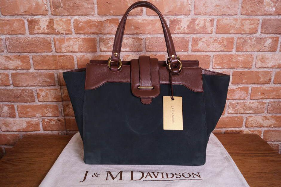 J&M DAVIDSON トートバッグ J&Mデヴィッドソン バイカラー【中古】