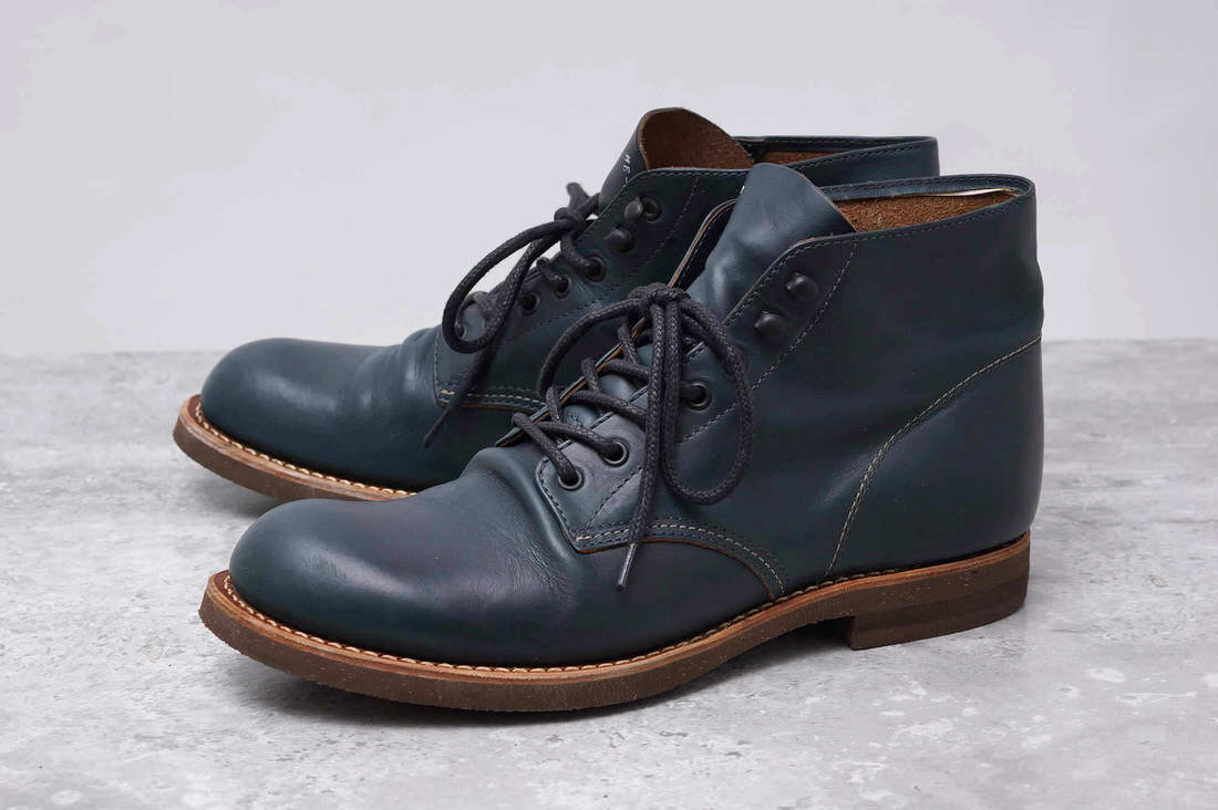 MR.OLIVE ブーツ ミスターオリーブ ME-551 HORWEEN CHROMEXCEL LEATHER SEVEN HOLE HUNTING BOOTS ホーウィン社クロムエクセル ハンティングブーツ【中古】