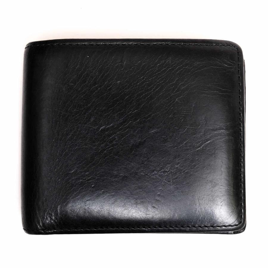 OHBA 財布 大峡製鞄 サンタクローチェ 二つ折り【中古】