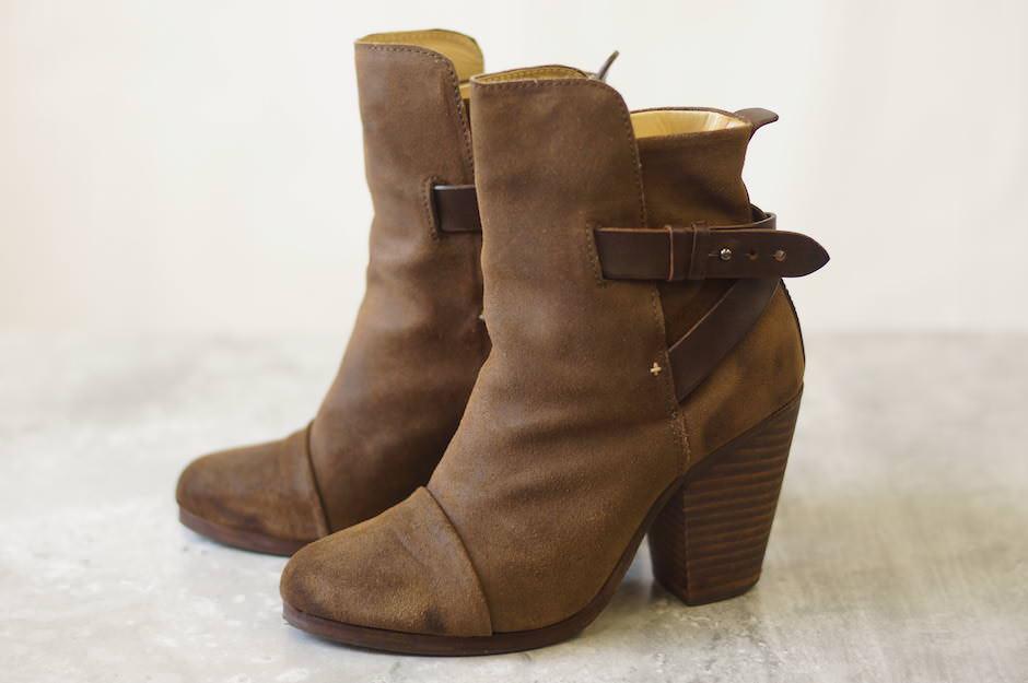 rag&bone ブーツ ラグ&ボーン Kinsey アンクルブーツ ブーティー leather ankle boots【中古】