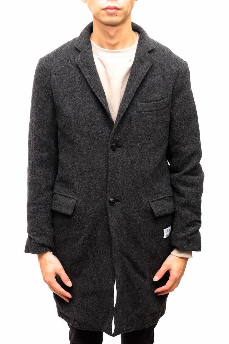 BEDWIN コート ベドウィン 2B TWEED CHESTER COAT