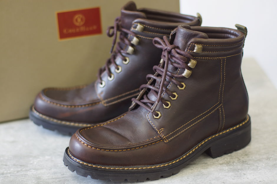 COLE HAAN ブーツ コールハーン Air Mosby Hi Lace Boot AIR エアー搭載モデル【中古】