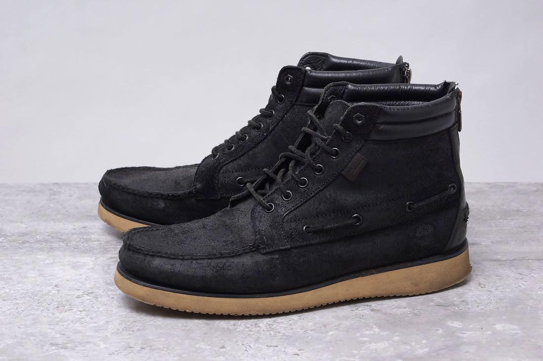 Timberland ブーツ ティンバーランド 7 Eye Chukka Boots セブンアイチャッカブーツ White Mountaineeringコラボ  【中古】