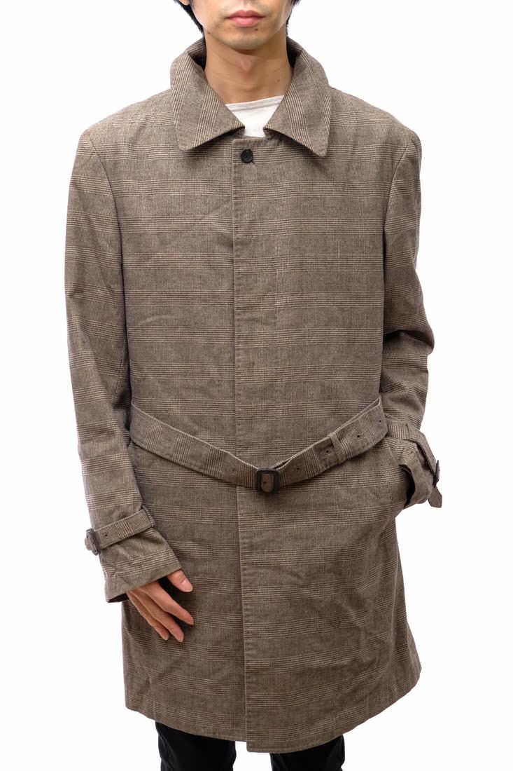 STRASBURGO コート ストラスブルゴ グレンチェック トレンチコート ベルト付き  【中古】