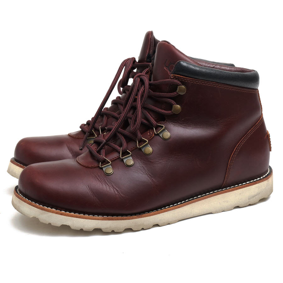 UGG マウンテンブーツ アグ M BOYSEN TL 1009223 M/CRDV Treadlite by 防水加工 【中古】