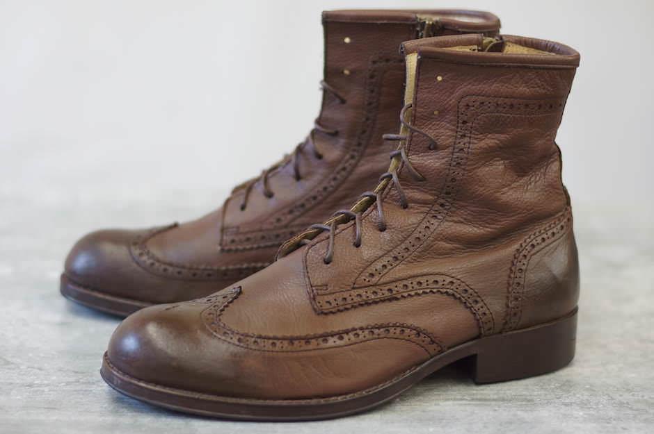 glamb グラム/boots/shoe/靴 ブーツ Sccot boots GB08AT / AC13 【中古】【glamb】