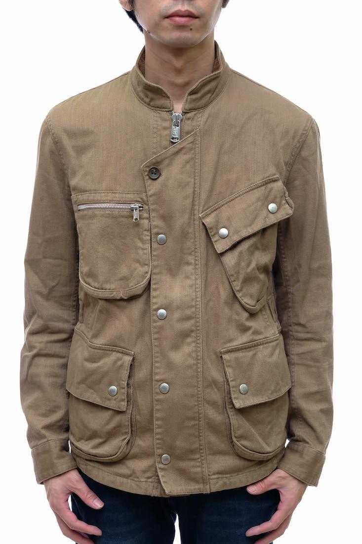 ノンネイティブ nonnative NN-J2209 買い取り RIDER JACKET 特別セール品 - 中古 CHINO その他ジャケット CLOTH COTTON