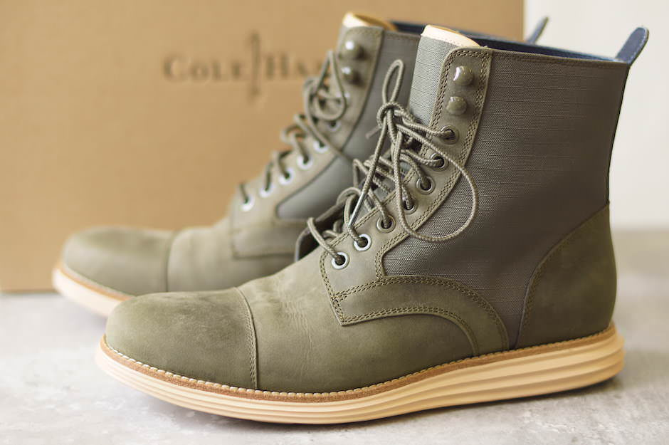 COLE HAAN コールハーン/boots/shoe/靴 ブーツ ルナグランド LUNARGRAND LACE BOOT 【中古】【COLE HAAN】