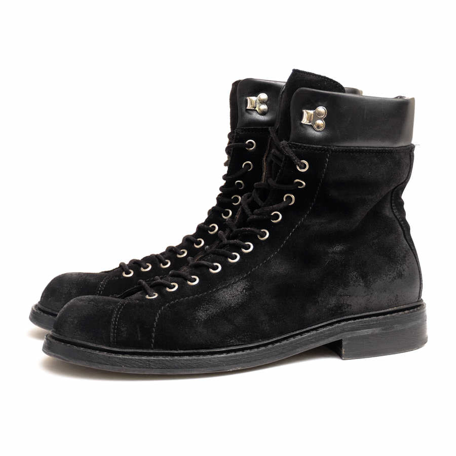 BUTTERO ブッテロ/レースアップブーツ/boots/shoe/靴 レースアップブーツ B2454 モンキーブーツ 【中古】【BUTTERO】