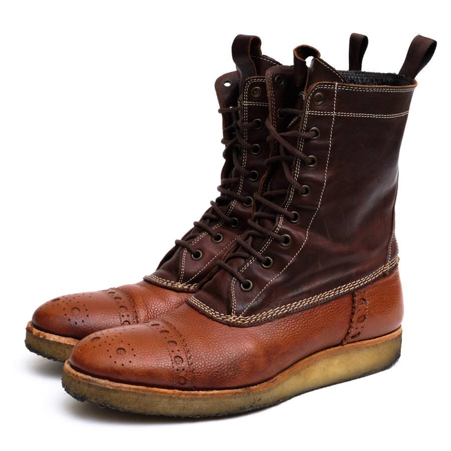 Paul Smith ポールスミス/boots/shoe/靴 ブーツ レースアップブーツ カントリーブーツ 【中古】【Paul Smith】