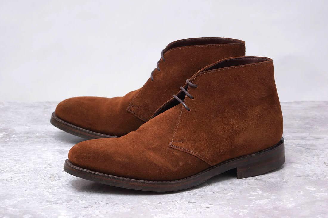 Loake ローク/boots/shoe/靴 ブーツ PINLICO 511142 0011 junhashimoto ジュンハシモト別注 【中古】【Loake】
