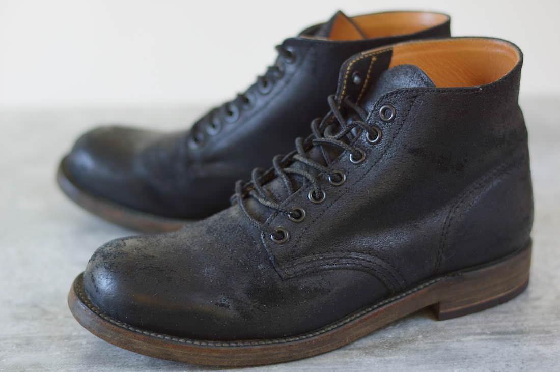 ATTACHMENT アタッチメント/boots/shoe/靴 ブーツ オンタリオ 7ホール ワークブーツ レースアップ 【中古】【ATTACHMENT】