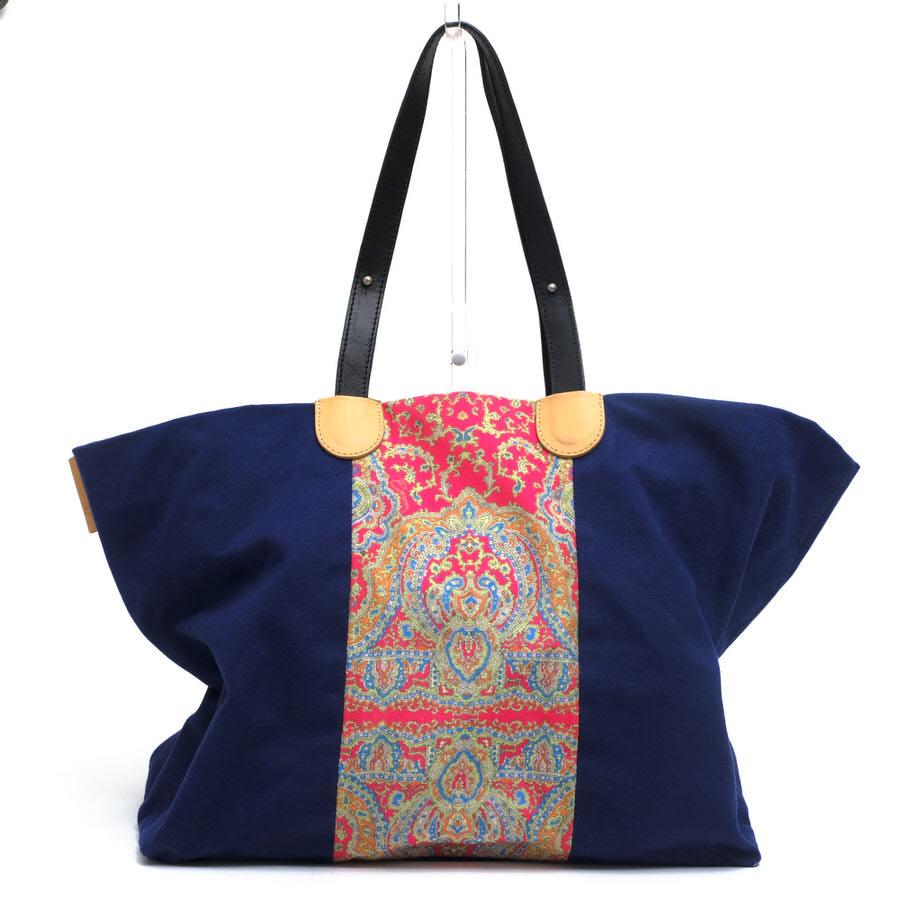 カルヴェン/CARVEN/Paisley-print bag トートバッグ 【中古】