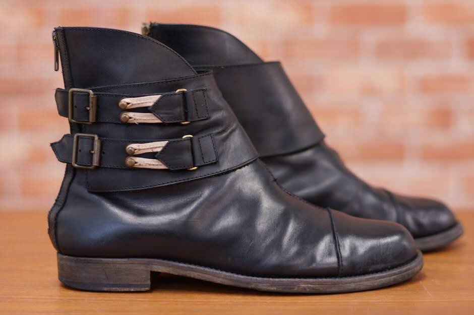 LD Tuttle エルディータートル/boots/shoe/靴 ブーツ fad3別注 バックジップ ベルト 【中古】【LD Tuttle】