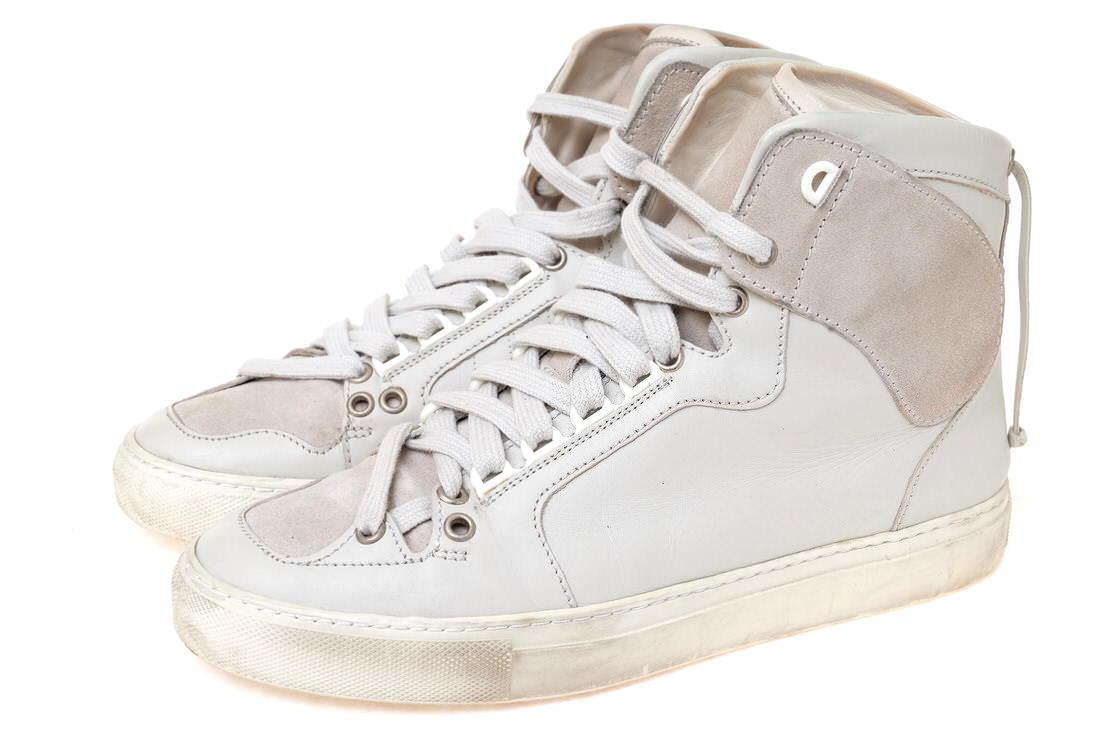 KRIS VAN ASSCHE クリスヴァンアッシュ/sneaker/shoe/靴 スニーカー ハイカットスニーカー 【中古】【KRIS VAN ASSCHE】