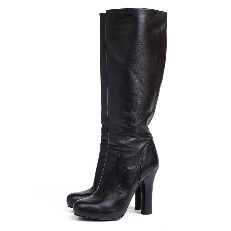 DOLCE&GABBANA ドルガバ/boots/shoe/靴 ロングブーツ 【中古】【DOLCE&GABBANA】