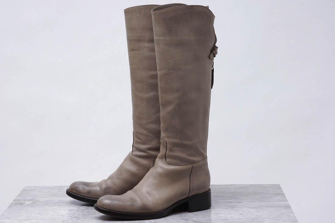 SARTORE サルトル/boots/shoe/靴 ブーツ 乗馬ブーツ ジョッキーブーツ ロングブーツ バックジップ 定番の形 【中古】【SARTORE】