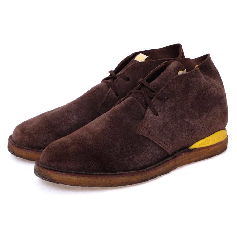 VISVIM ビズビム/boots/shoe/靴 ブーツ ISDT BOOTS-FOLK デザートブーツ 【中古】【VISVIM】