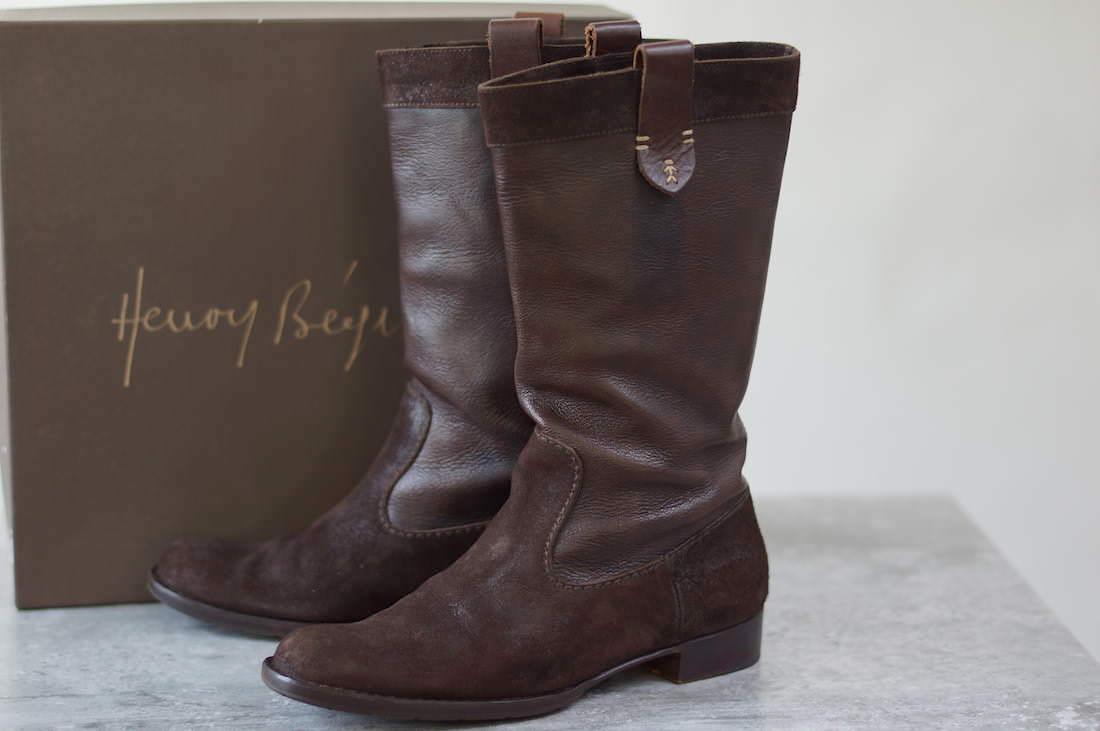 HENRY BEGUELIN エンリーベグリン/boots/shoe/靴 ブーツ エンジニアブーツ ロングブーツ 【中古】【HENRY BEGUELIN】