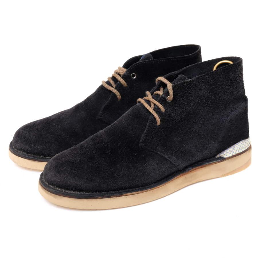 VISVIM ビズビム/boots/shoe/靴 ブーツ NEWELL CREPE-FOLK チャッカブーツ デザートブーツ 【中古】【VISVIM】