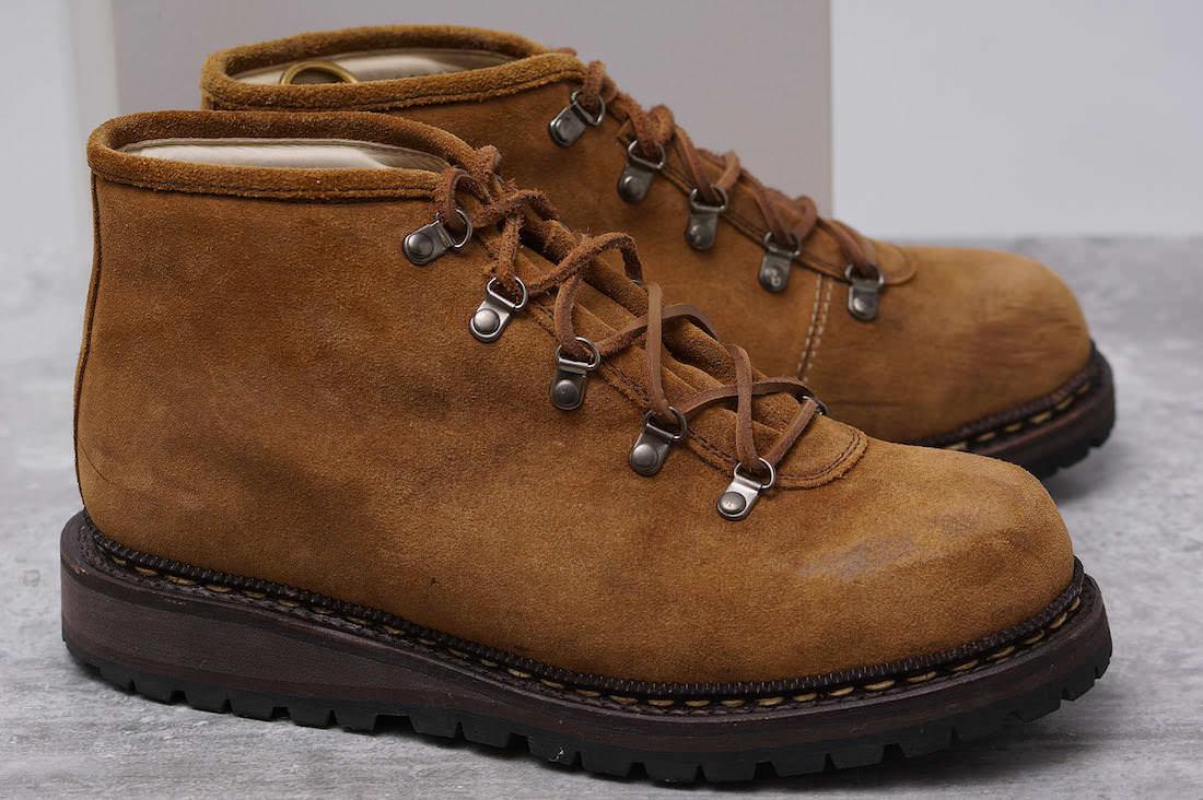nonnative ノンネイティブ/boots/shoe/靴 ブーツ NN-F2205 LOGGER BOOTS ITALIAN COW LEATHER by REGAL リーガル 別注 マウンテンブーツ 【中古】【nonnative】