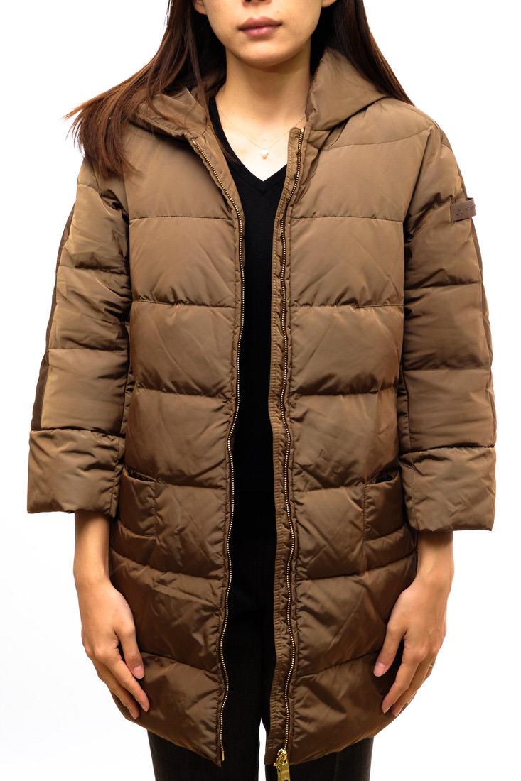 PEUTEREY ピューテリー/JACKET/coat/コート コート イタリアメーカー 7分袖ダウンコート ダウンジャケット 【中古】【PEUTEREY】