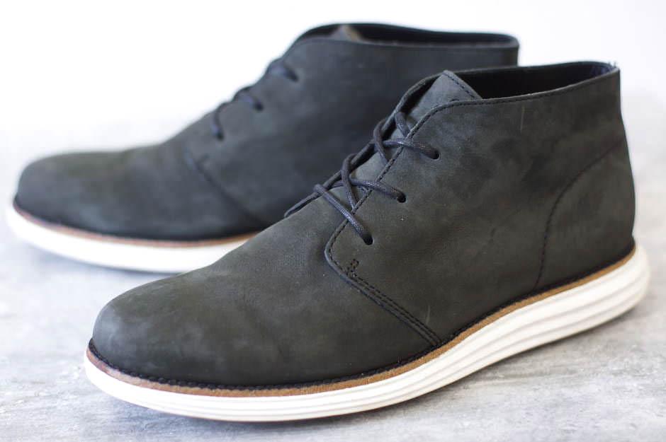 COLE HAAN コールハーン/boots/shoe/靴 ブーツ LUNARGRAND ルナグランド チャッカ Pristine Nubuck 【中古】【COLE HAAN】