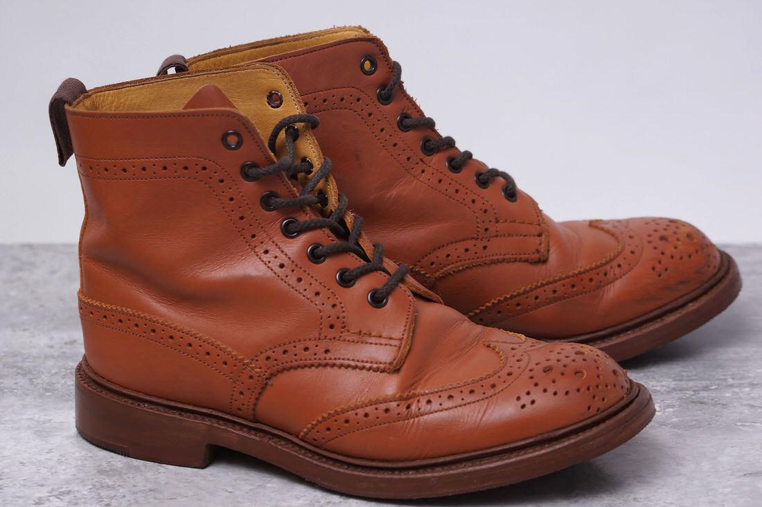 トリッカーズ/Tricker's/L2508 MALTON モールトン Brogue Boots ブーツ 【中古】