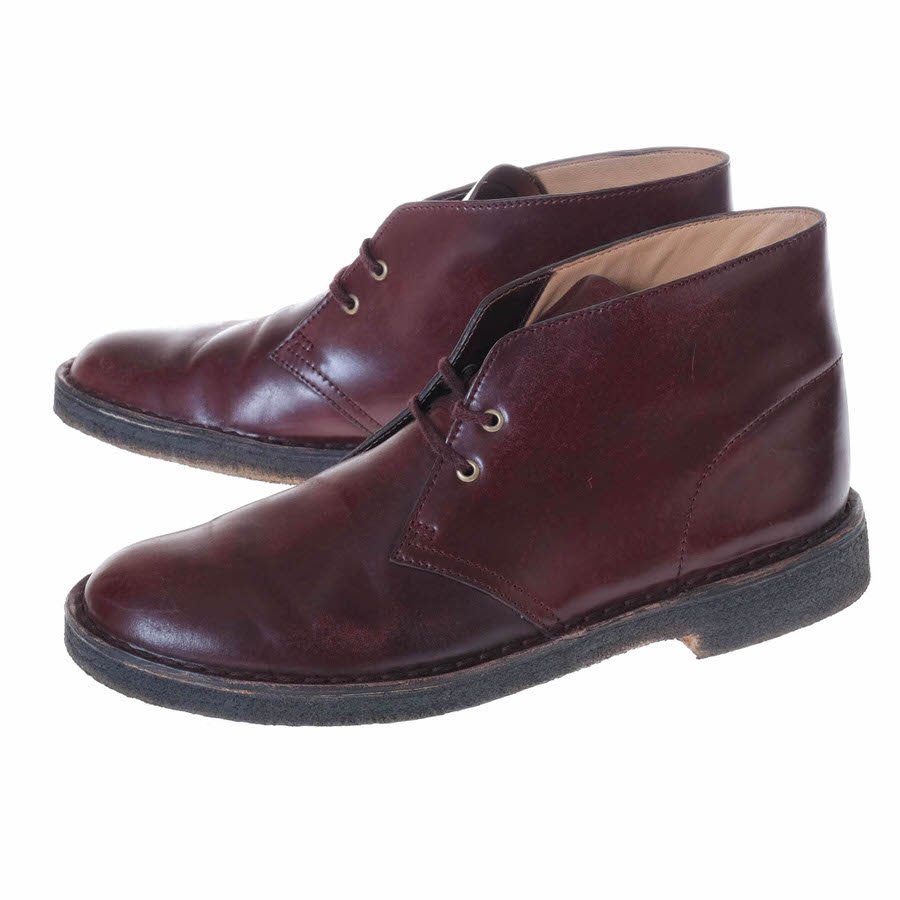 Clarks クラークス/boots/shoe/靴 ブーツ Horween ホーウィン社コードバンレザー 【中古】【Clarks】
