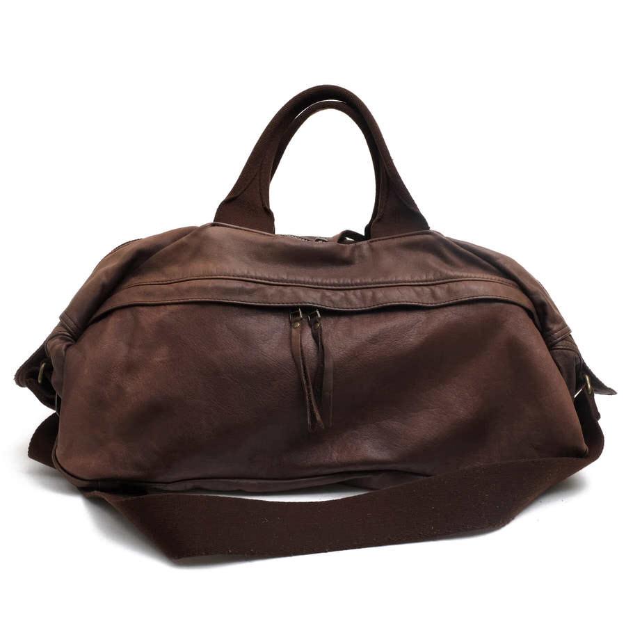 ホーボー/hobo/HB-BG1410 Water Proof Leather Boston Bag ボストンバッグ 【中古】