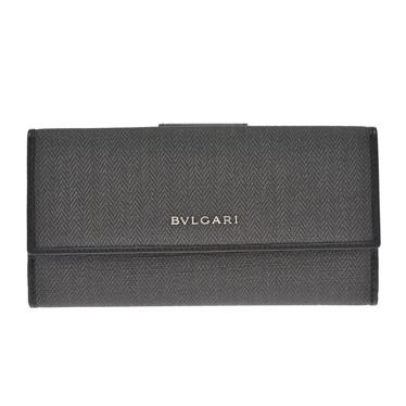 お買得 送料無料 ラッピング無料 メンズ レディース 男性 女性 ユニセックス ブルガリ BVLGARI ブルガリ財布 Selection 32589 大好評です Luxury ダブルホック長財布 WEEKEND Brand ブラック