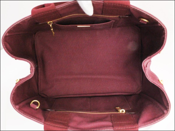 218bb5c16359 ... AB rank plastic Dacca Napa Thoth BN2642 amateur Lunt Bordeaux plastic  Dacca Napa tote bag shoulder ...