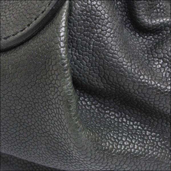 B等级香奈尔宽底旅行皮包A33046 matorassesutetchikafu CHANEL复古鱼子酱皮肤手提包