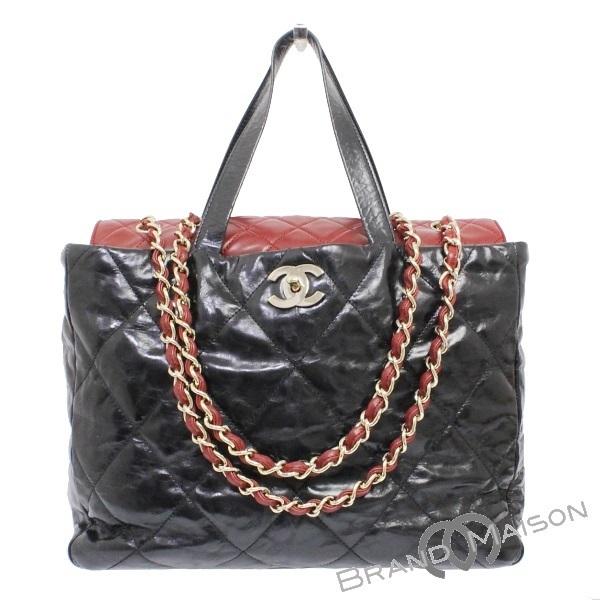 90a78bbbd781 A rank Chanel Portobello chain shoulder bag 2WAY A46148 black Bordeaux  CHANEL Lady's handbag tote bag ...
