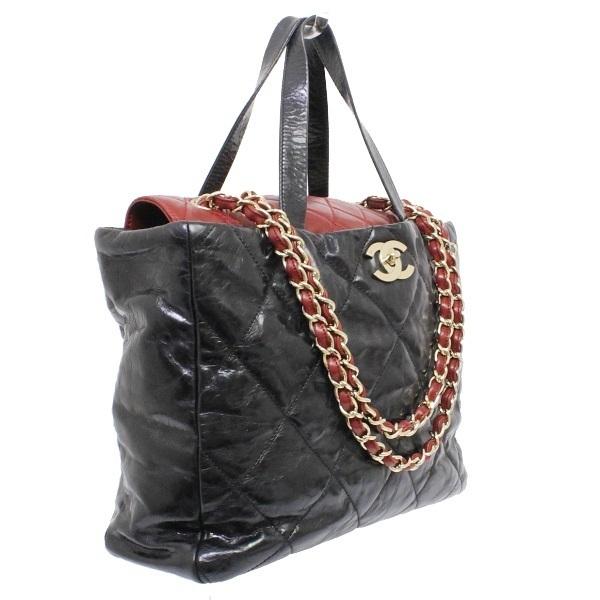 1b7c4a6f70c5 A rank Chanel Portobello chain shoulder bag 2WAY A46148 black Bordeaux  CHANEL Lady s handbag tote bag black