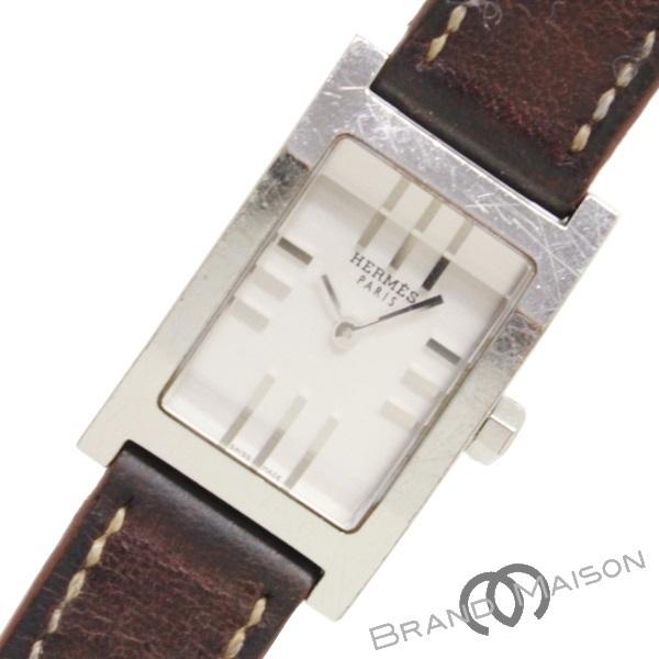 Bランク エルメス タンデム TA1.210 Bランク レディース ブラウン シルバー文字盤 エルメス 腕時計 タンデム HERMES ステンレス レザーベルト【中古】, バッテリーのことならTHE BATTERY:d91f1910 --- verkokajak.se