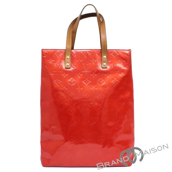 bb2d098d11b2 B rank Louis Vuitton lead MM tote bag M91086 ヴェルニレッド LOUIS VUITTON Vuitton RED  Lady's ...