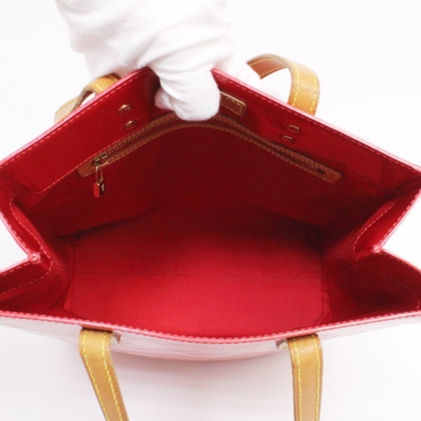 58bb461dcdcc ... B rank Louis Vuitton lead MM tote bag M91086 ヴェルニレッド LOUIS VUITTON  Vuitton RED Lady's ...