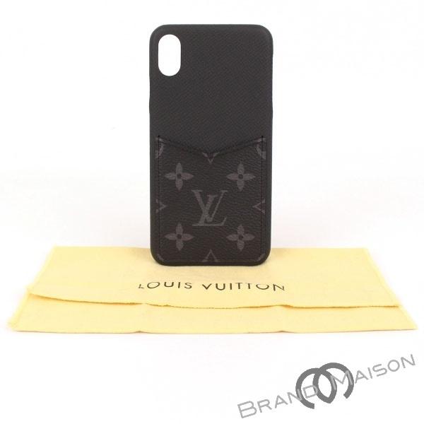 送料無料 メーカー公式 当店管理番号:0534707090083 返品不可 Aランク ルイ ヴィトン iPhoneバンパーXS スマホケース MAX iPhoneXS M67428 アイフォン 中古
