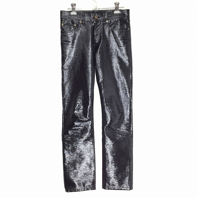 74b64bcf39e 14SS shiny patent leather long underwear was received from